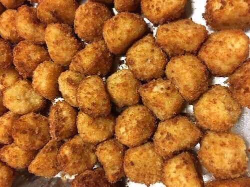 Heritage Food Truck catering potato croquettes