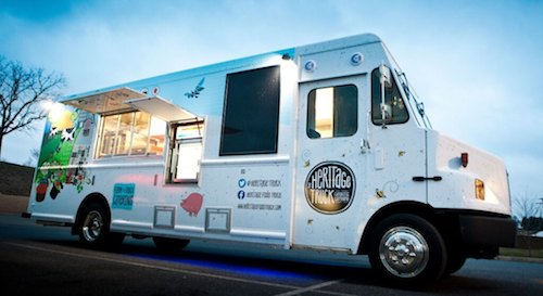 the Heritage Food Truck for Catering in MA