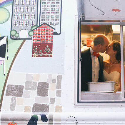 why have a food truck wedding
